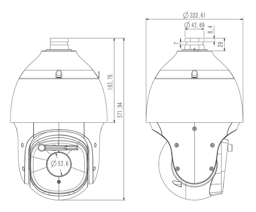 TC-A3563Dimensions